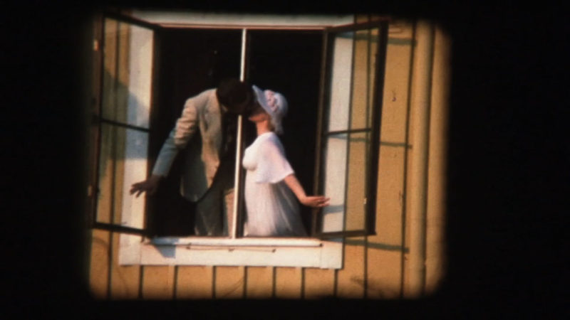 fönster kyss